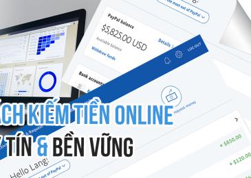 Những cách kiếm tiền online bá đạo