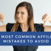 Những lỗi thường gặp khi tham gia tiếp thị liên kết